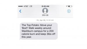 TopPotato text sample