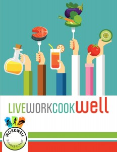 LiveWorkCookWell Cookbook cover photo